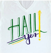 Hail Yes V-Neck Tee