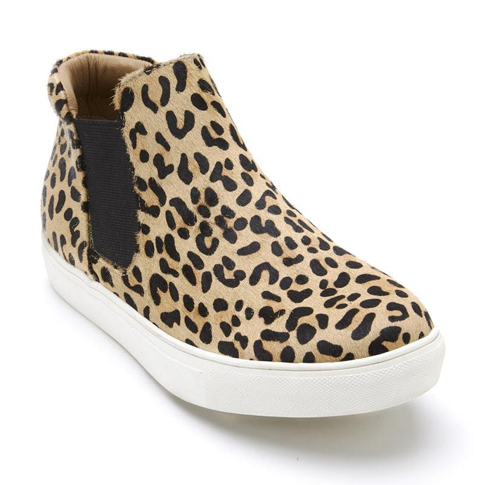Leopard Mid-Top Slip On-GD