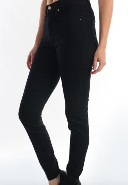 Highwaisted Black Skinny-GD