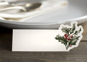 Holly Placecards-Set of 12