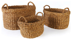 20'' Seagrass Cuff Basket