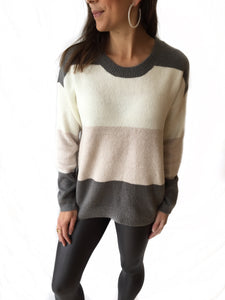Snowdrop Stripe Sweater
