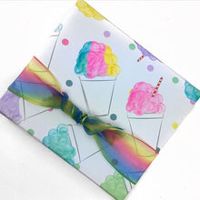 Snoball Wrapping Paper