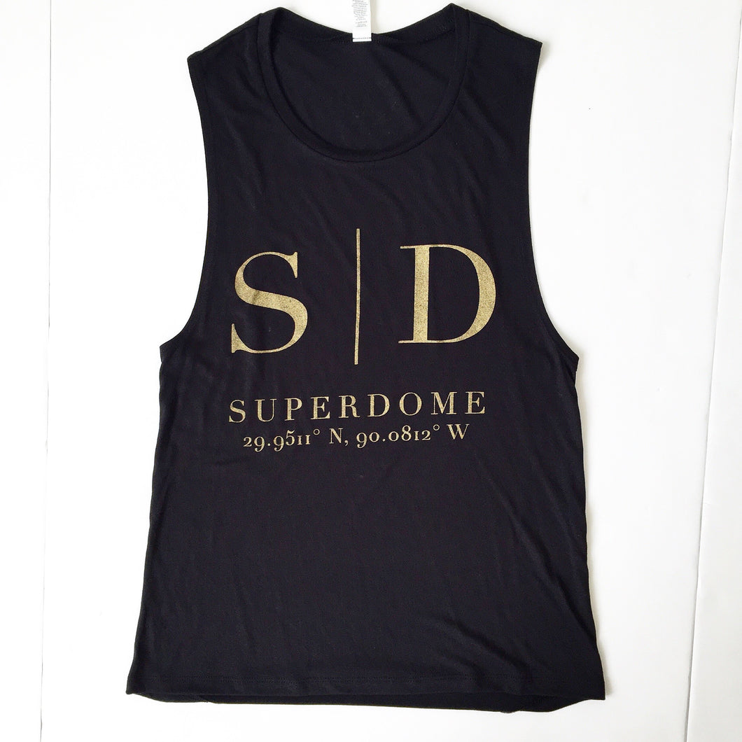 GD Superdome Coord. Muscle Tank
