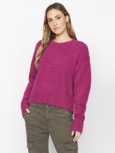 Magenta Super Soft Popover sweater