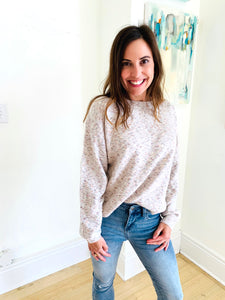 Ivory Multi Chill Sweater