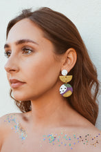Vivian Earrings Abstract Carnival