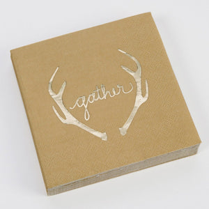 Gather Beverage Napkins