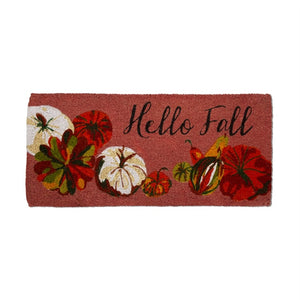 Hello Fall Double Door Mat-Copper
