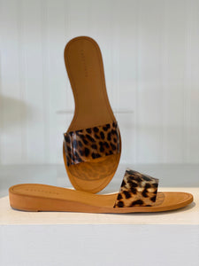 Brown Leopard Slide