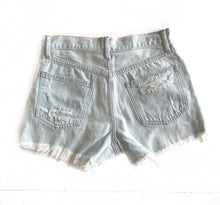 GD Light Distressed Denim Shorts