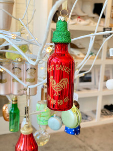Hot Sauce Ornament