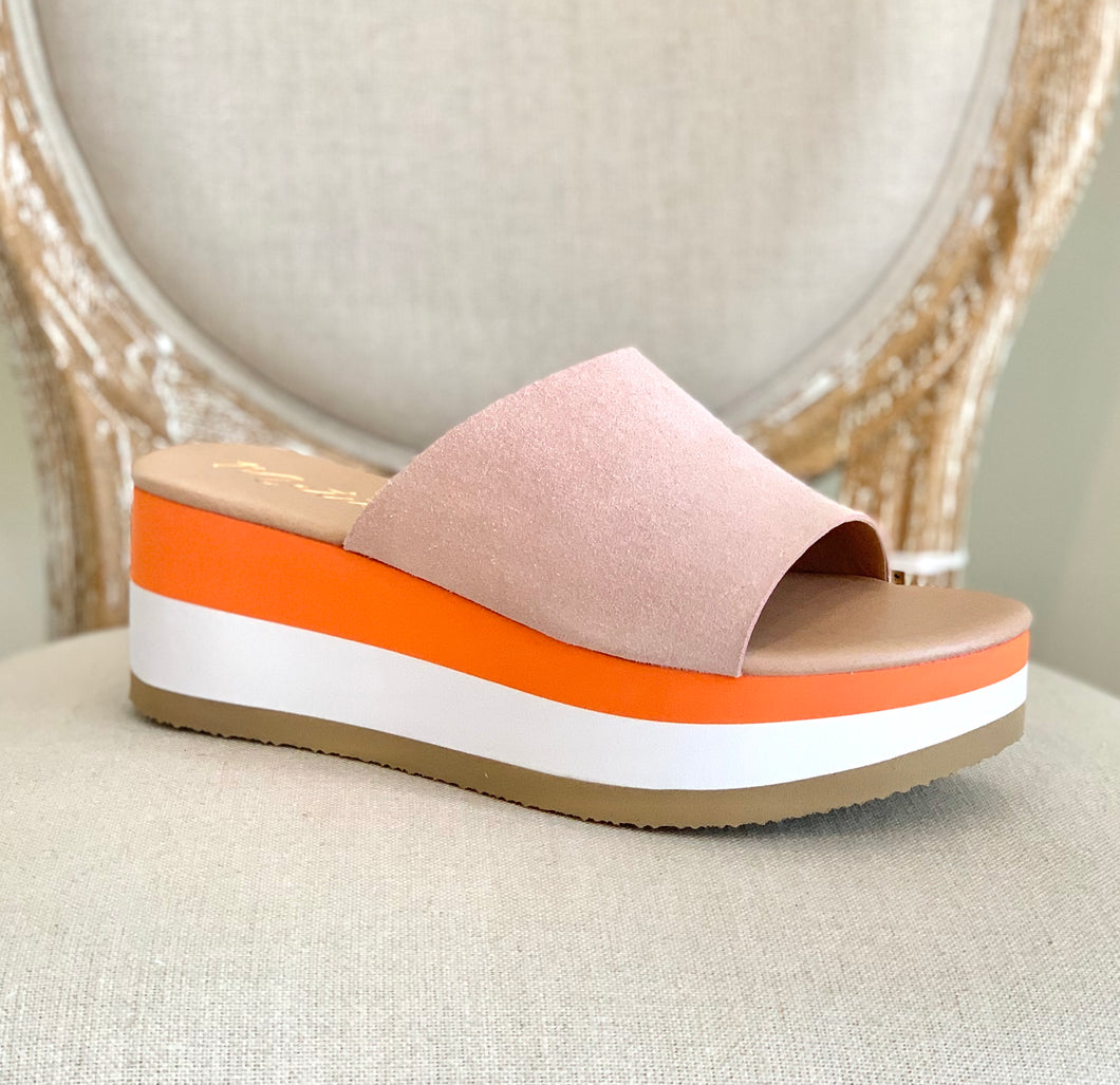 Rose One Strap Wedge