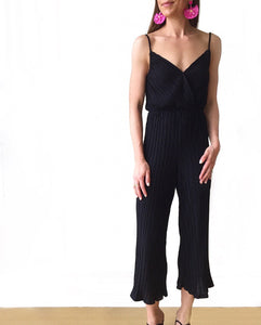 Cami Tank Pleated Jumpsuit