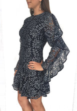 Engage L/S Navy Lace Dress