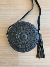 Circle Tassel Crossbody