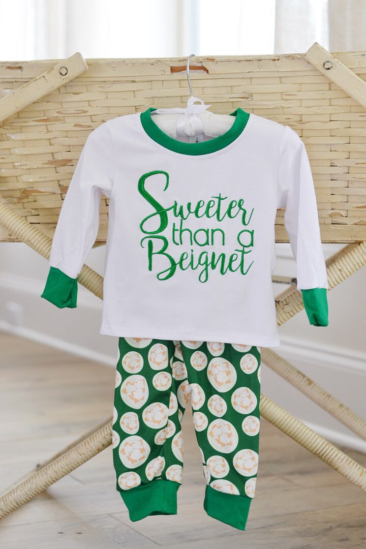Sweeter Than A Beignet PJ's