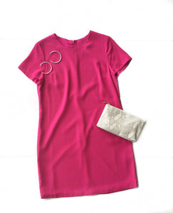 MR Fuchsia Shift Dress