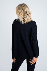Black Crew Sweater
