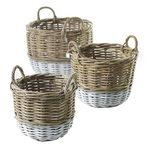Pintado Wicker Basket-Sm