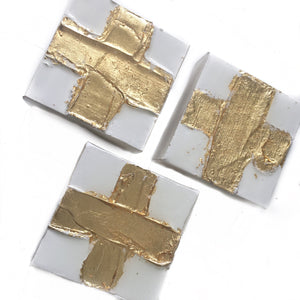 4x4 Gold Cross