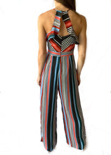 Multi-Stripe Florentine Jumpsuit