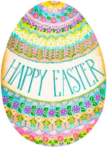 """Happy Easter"" Egg Door Hanger/Stake"