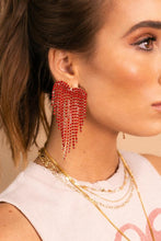 Red Showstopper Earrings