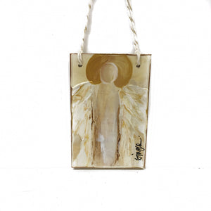 Serenity Angel Ornament