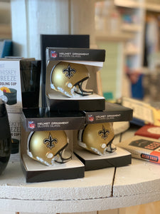 N.O. Saints Helmet Ornament