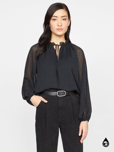 Live It up Black Blouse