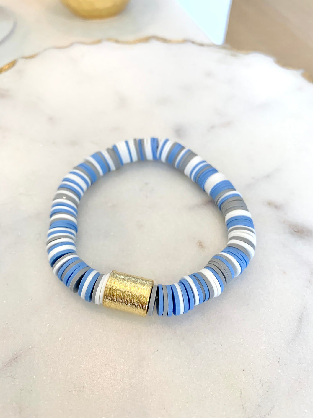 Multi Gold Bar Bracelet