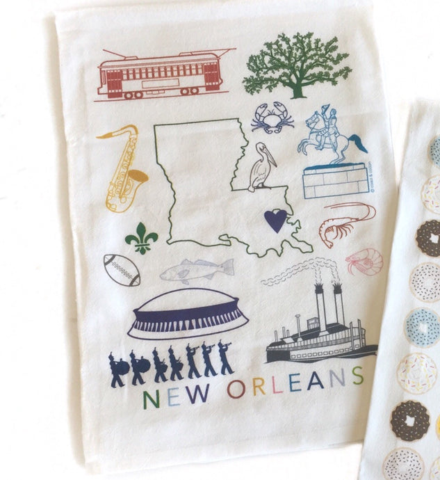 GD-New Orleans Pride Hand Towel-Multi