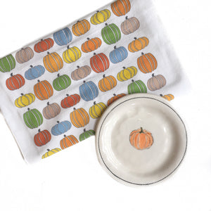 GD-Fall Pumpkins Hand Towel