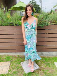 Mint Betty Maxi Dress