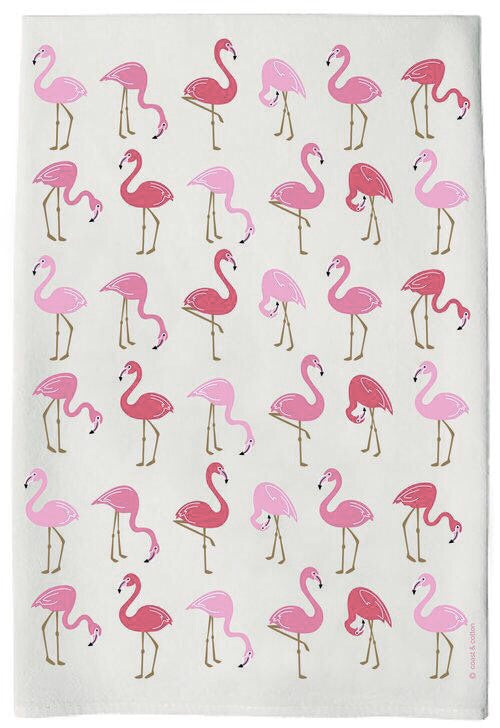 Flamingo Hand Towel