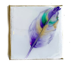 4x4 Mardi Gras Feather