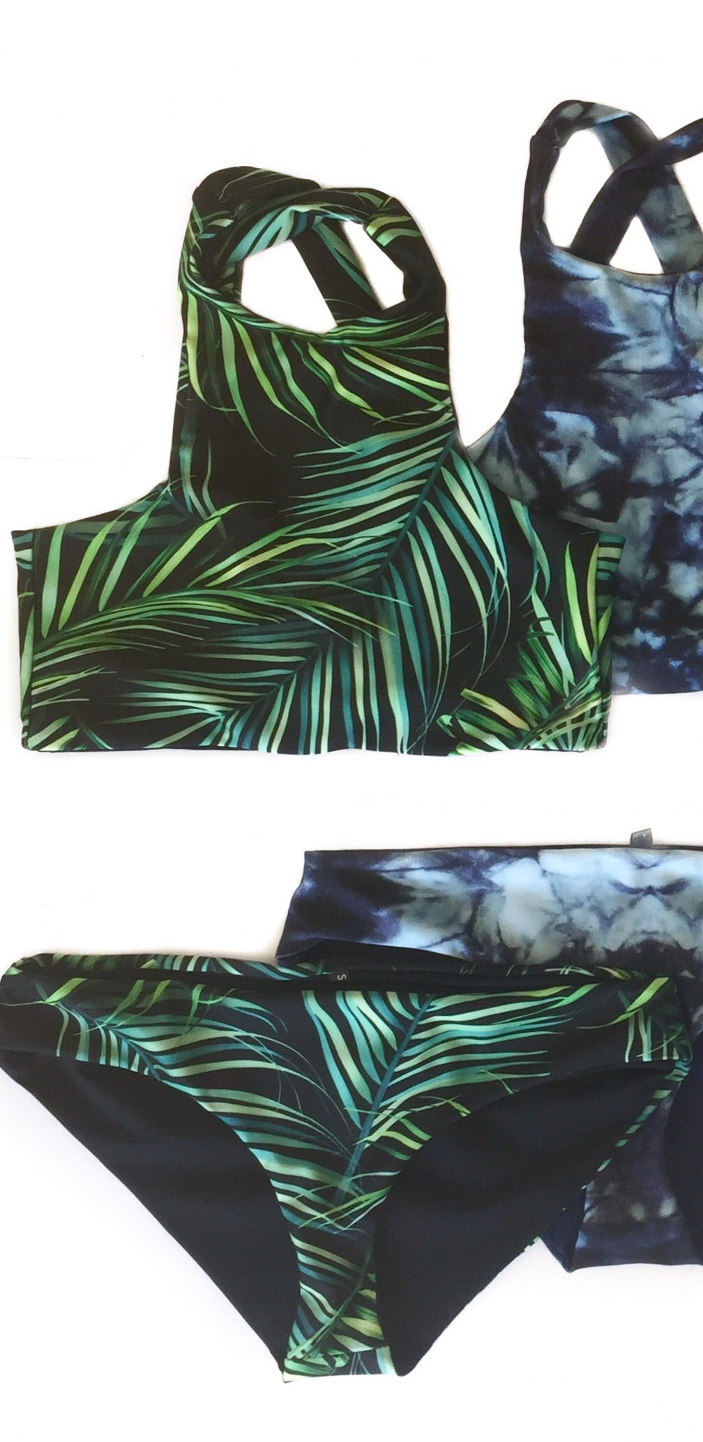 Palms Crop Swim Set