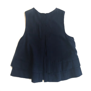 GD S/L Navy Dbl Layer Tank