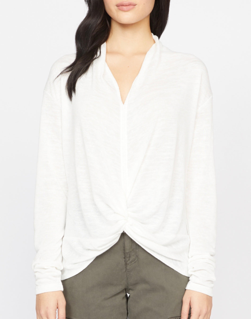 milk knot interested top