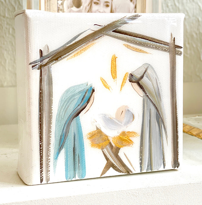 4x4 Nativity/Canvas-Soft