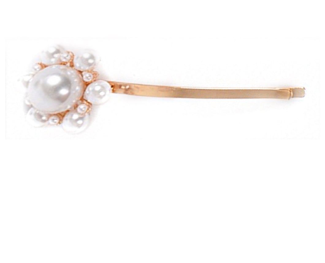 Flower Pearl Hair Pin