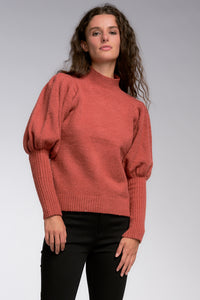 L/S Puff Sleeve Sweater
