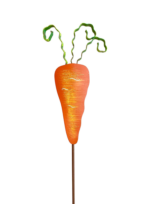 Rusty Orange Carrot Mini Stake