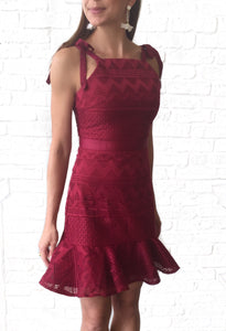 MR-Wine Shona Dress