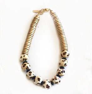 MR Leopard Capetown Necklace