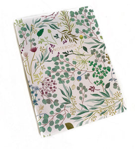 Leaf Eucalyptus Notebook
