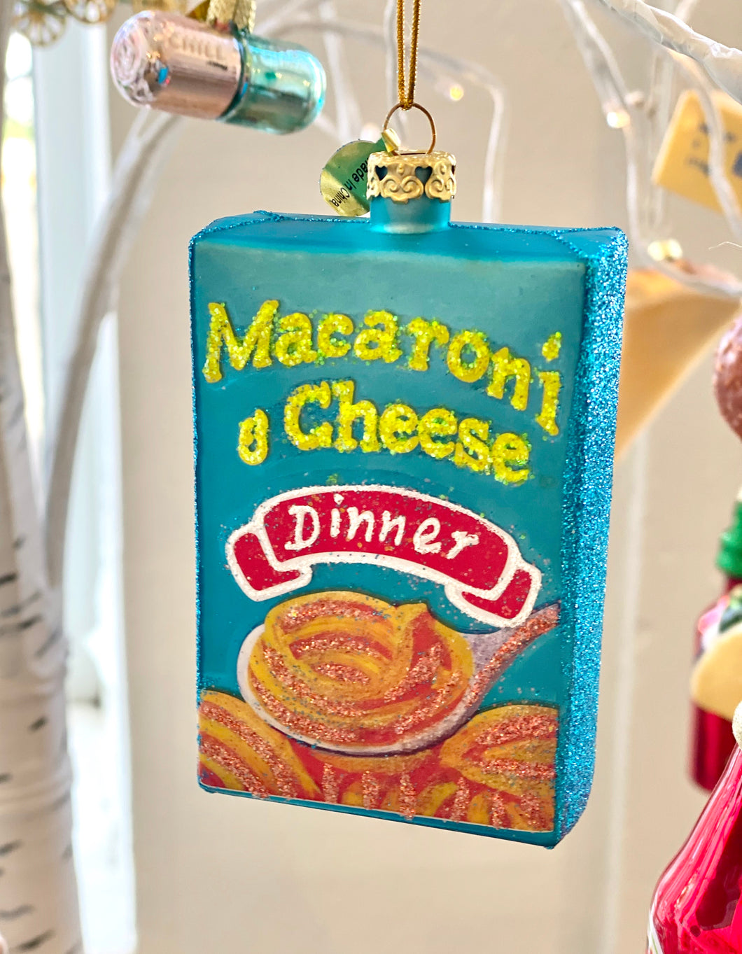 Mac & Cheese Ornament