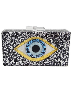 Eye Box Clutch