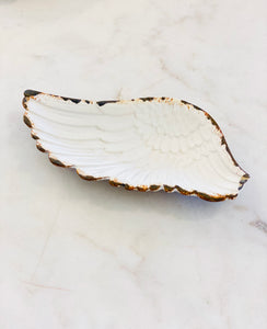 White Wing Dish